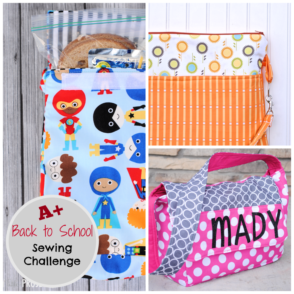 Back to School Sewing Challenge