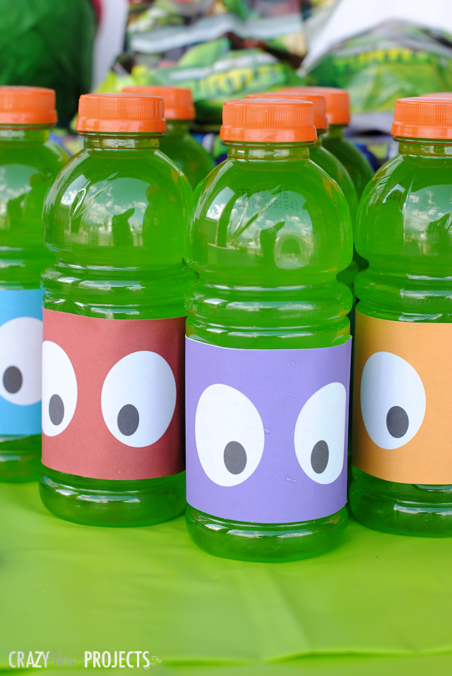 TMNT Party Drink Ideas