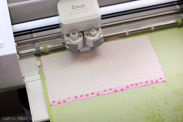 How to cut fabric with a Cricut Machine