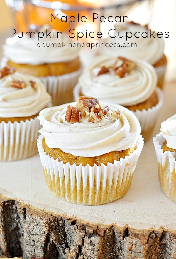 Maple-Pecan-Pumpkin-Spice-Cupcakes-Recipe