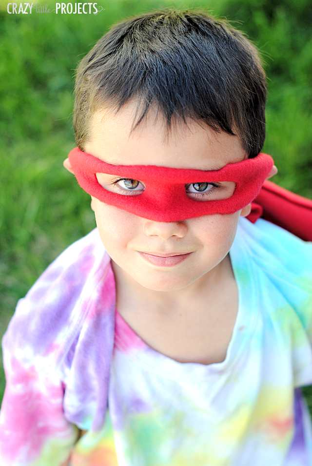 DIY Ninja Turtles Mask