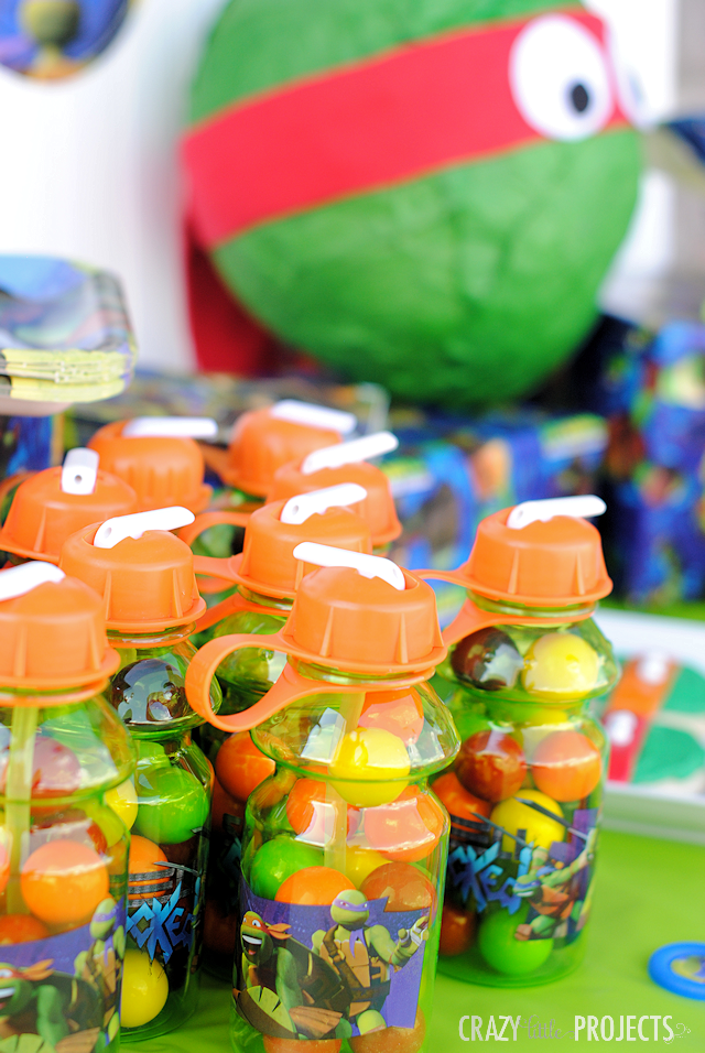 Ninja Turtle Birthday Party Ideas