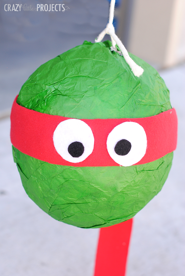 How to Make a Ninja Turtle Pinata