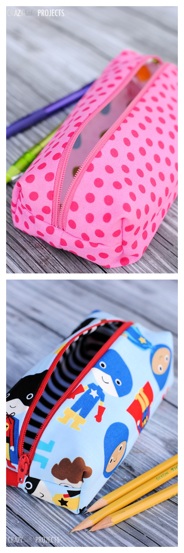 Pencil Bag Tutorial-Perfect for School!