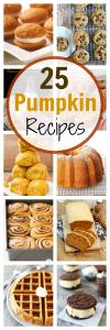 25 Amazing Pumpkin Recipes