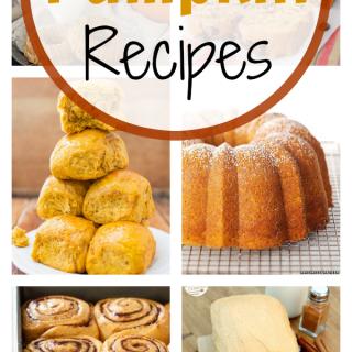 Fall Baking: 25 Pumpkin Recipes