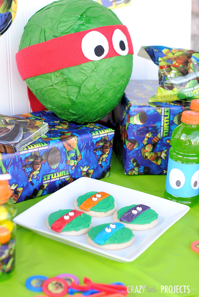 Teenage Mutant Ninja Turtle Birthday Party Ideas
