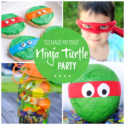 Teenage Mutant Ninja Turtle Party Ideas