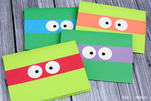 Teenage Mutant Ninja Turtle Birthday Party Invitations