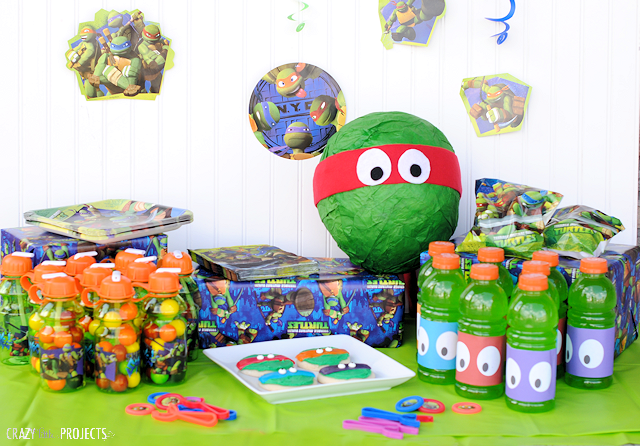 Fun teenage mutant ninja turtle party ideas dude for Tmnt decorations