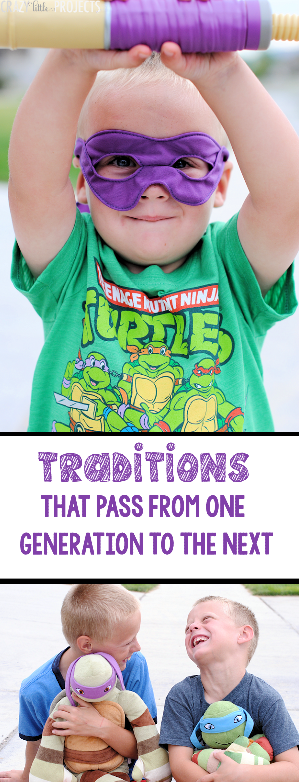 Traditions that pass from one generation to the next one