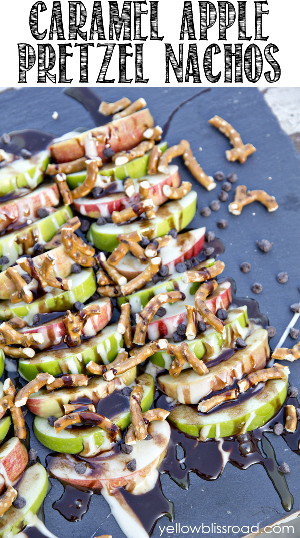 apple pretzel nachos title