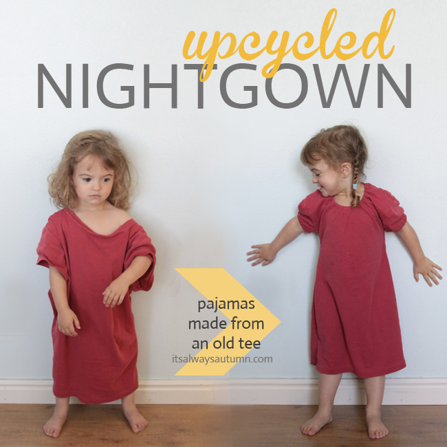 tshirt-girl-pajamas-upcycle-refashion-free-pattern