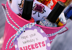 Cute and Simple Birthday Gift Idea with Free Printable Tag