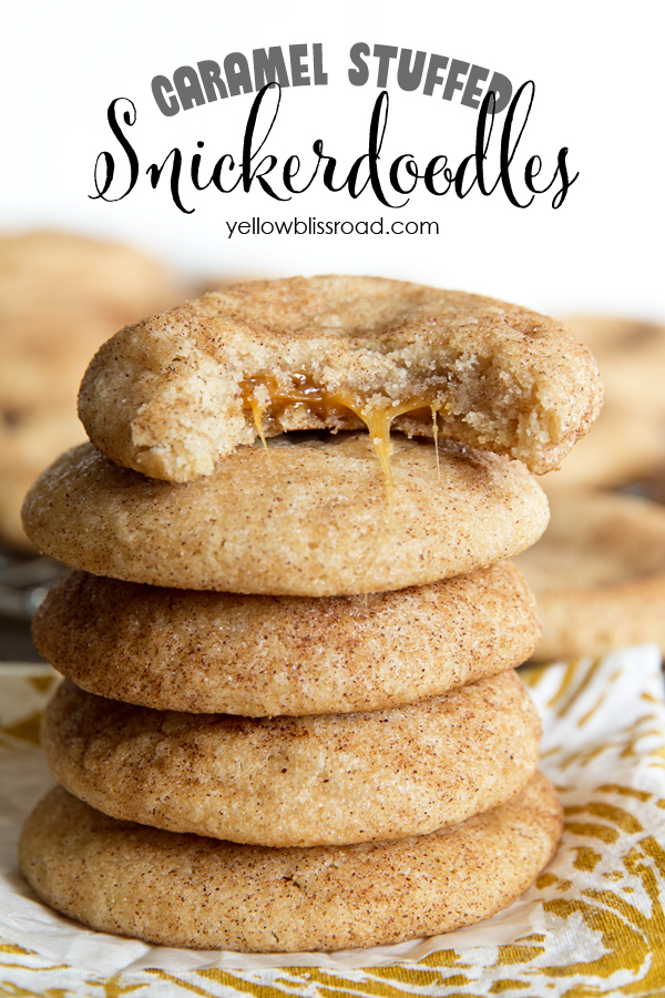 Caramel-Stuffed-Snickerdoodles