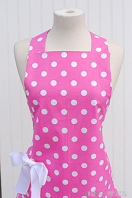 Simple summer dress pattern toddler apron
