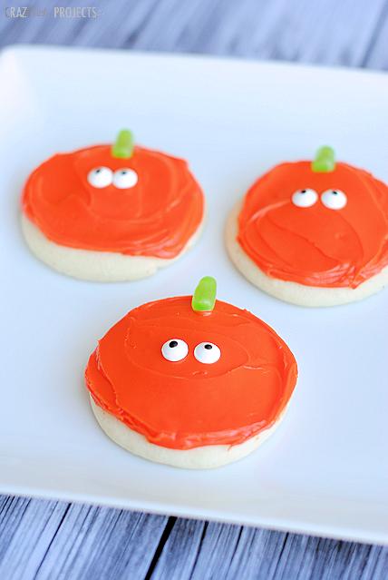 Easy Pumpkin Sugar Cookies
