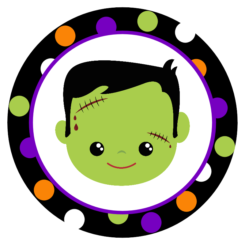 It is a picture of Halloween Stickers Printable within cute