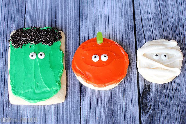 Easy Halloween Sugar Cookies