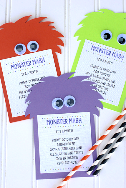 Monster Mash Party Ideas Crazy Little Projects – Monster Party Invites
