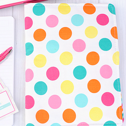 On the Go Organizer-DIY Notebook Cover