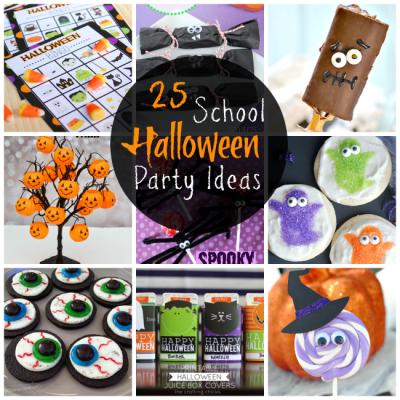 25 Elementary School Halloween Party Ideas