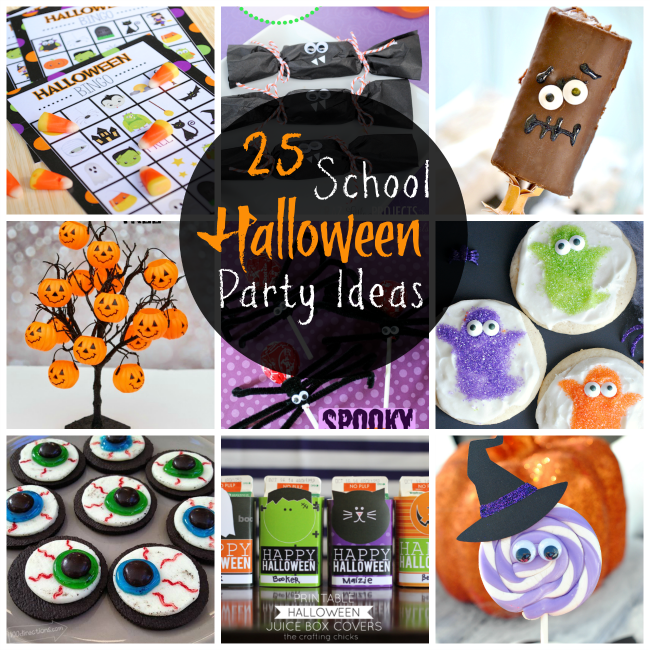 25 School Halloween Party Ideas For Kids Crazy Little Projects