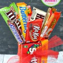 Easy Candy Bar Bouquet