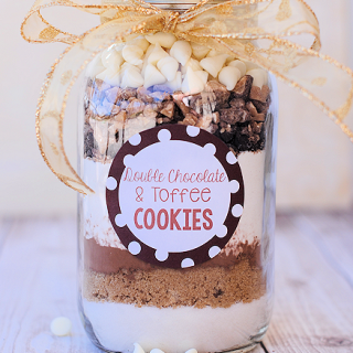 Cookies in a Jar Recipes: Chocolate Peppermint & Double Chocolate Toffee