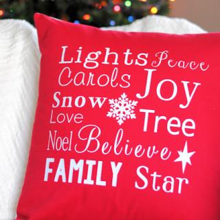 Thanksgiving & Christmas Throw Pillows