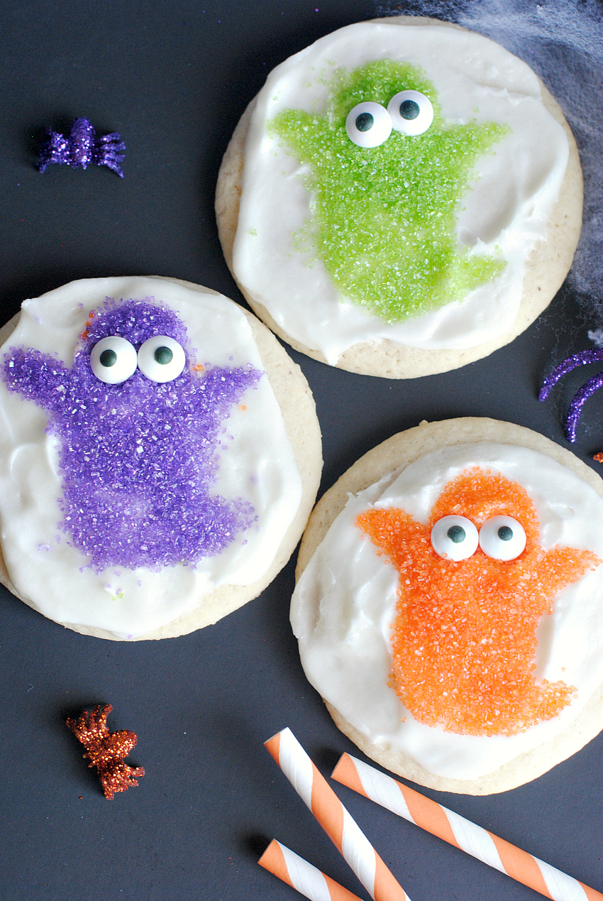 Halloween Ghost Cookies for Kids