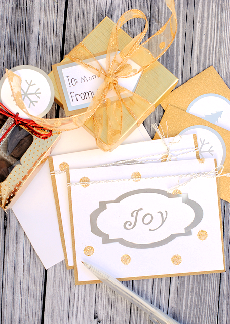 Gold and Silver Holiday Gift Wrap Ideas