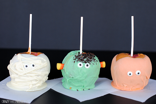 Halloween Caramel Apple Ideas