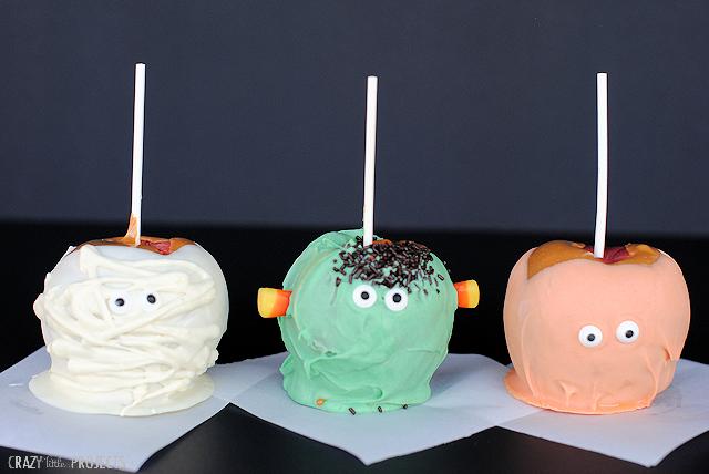 Halloween Caramel Apple Ideas