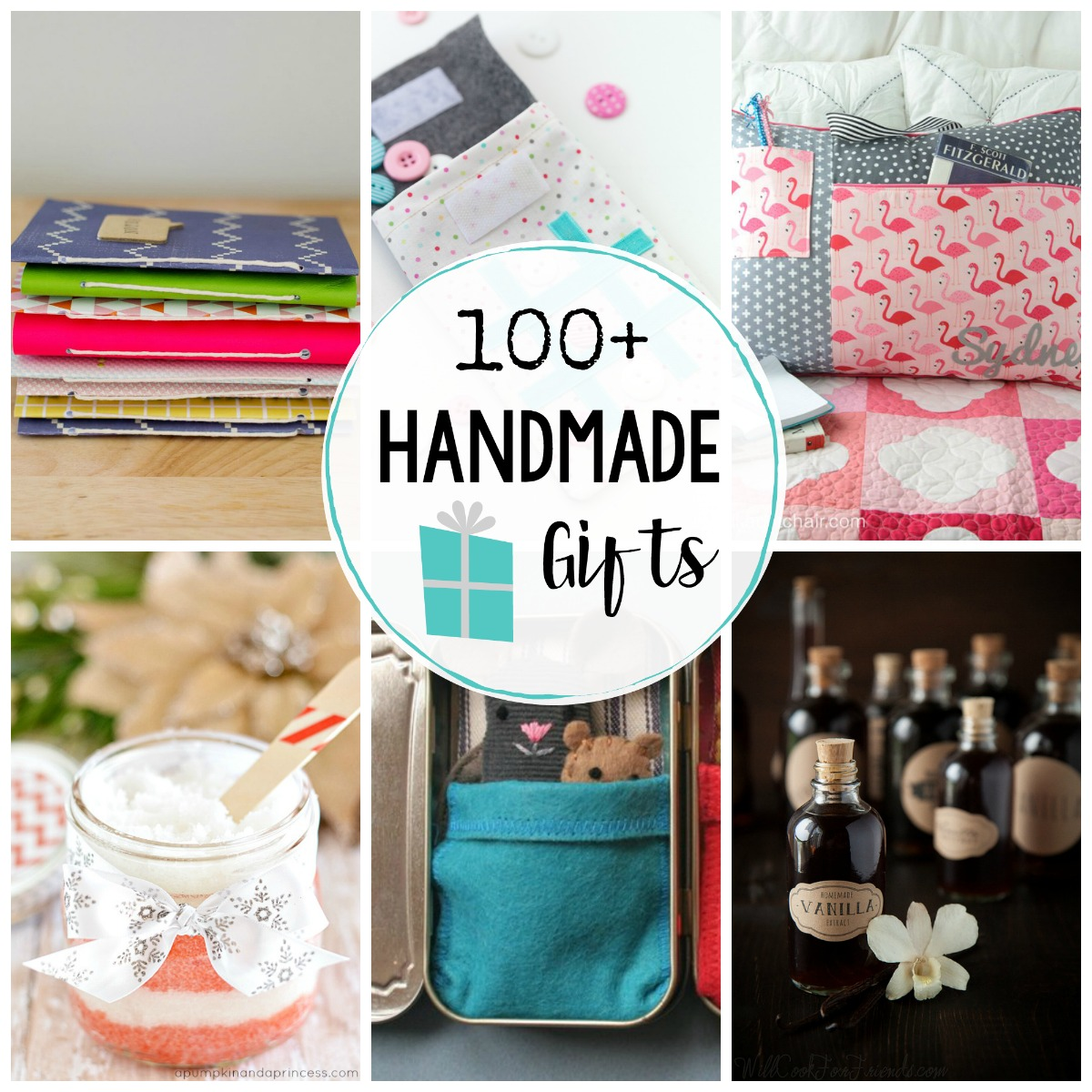 Tons of Handmade Gifts - 100+ Ideas for Everyone on Your List!