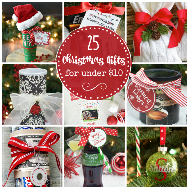 25 Creative and Cheap Christmas Gifts for Under $10  sc 1 st  Crazy Little Projects : christmas gifts for coworkers under 10 - princetonregatta.org