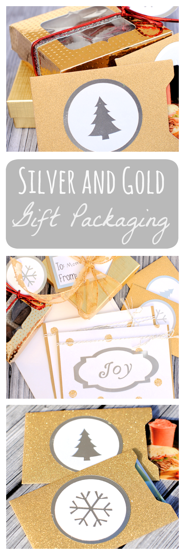 Beautiful Holiday Gift Packaging Ideas and Templates: Gift Card Holders, Tags, Cards and Gift Boxes