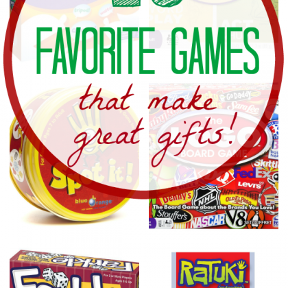 15 Favorite Games for Game Night