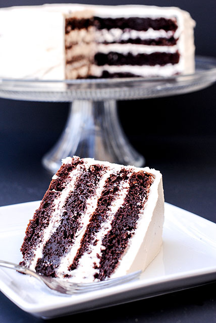 Chocolate Caramel Cake-4 Layers of AMAZING! This is to die for!