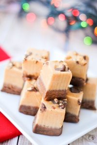 AMAZING Chocolate and Peanut Butter Fudge Recipe