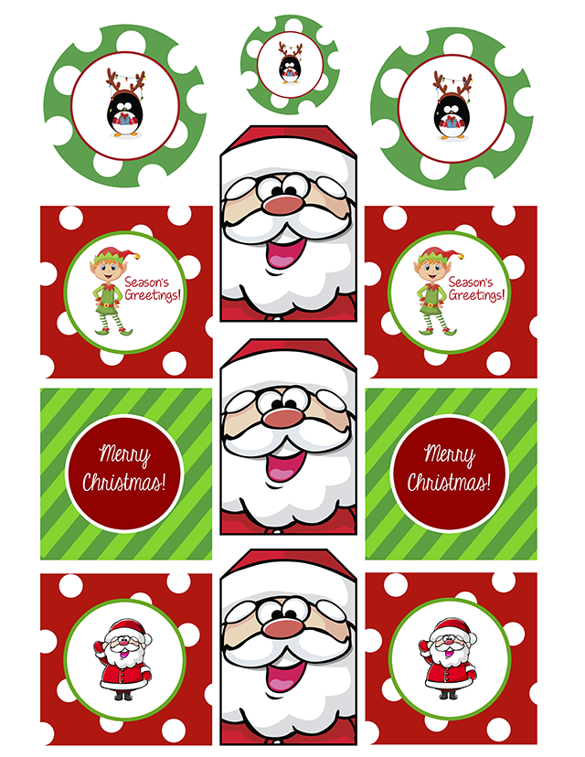 graphic about Free Printable Gift Tags Christmas referred to as Free of charge Printable Xmas Reward Tags