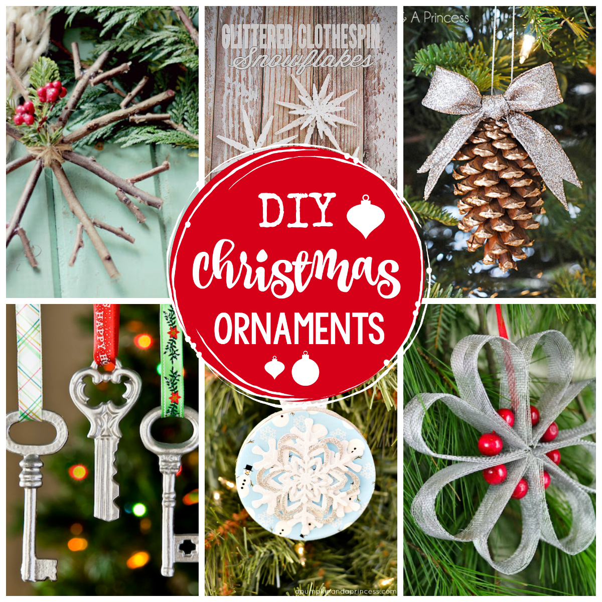 diy christmas ornaments to make this year - Decorating Christmas Ornaments