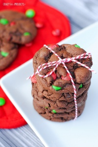 Double Chocolate Mint Christmas Cookies Recipe