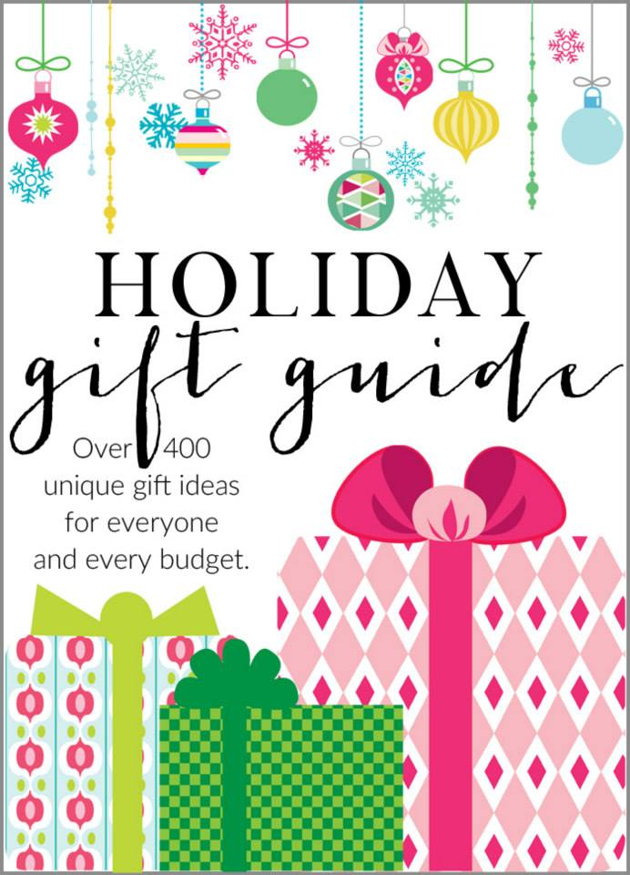 Gift Guides for Everyone on Your List!