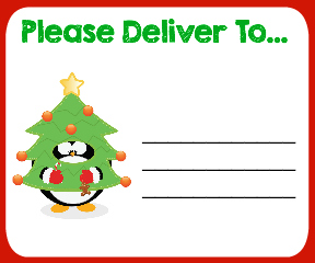 Rare image within free printable christmas address labels