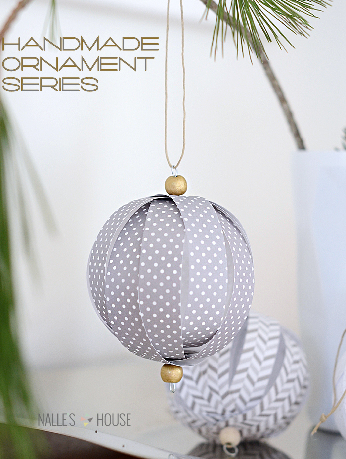 handmade paper ball ornaments diy christmas ornaments to make this year - Handmade Paper Christmas Decorations