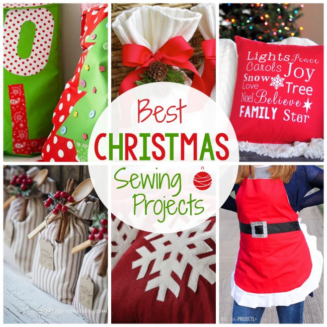 8e0f5f940ed5 25 Best Christmas Sewing Projects for the Holidays - Crazy Little ...