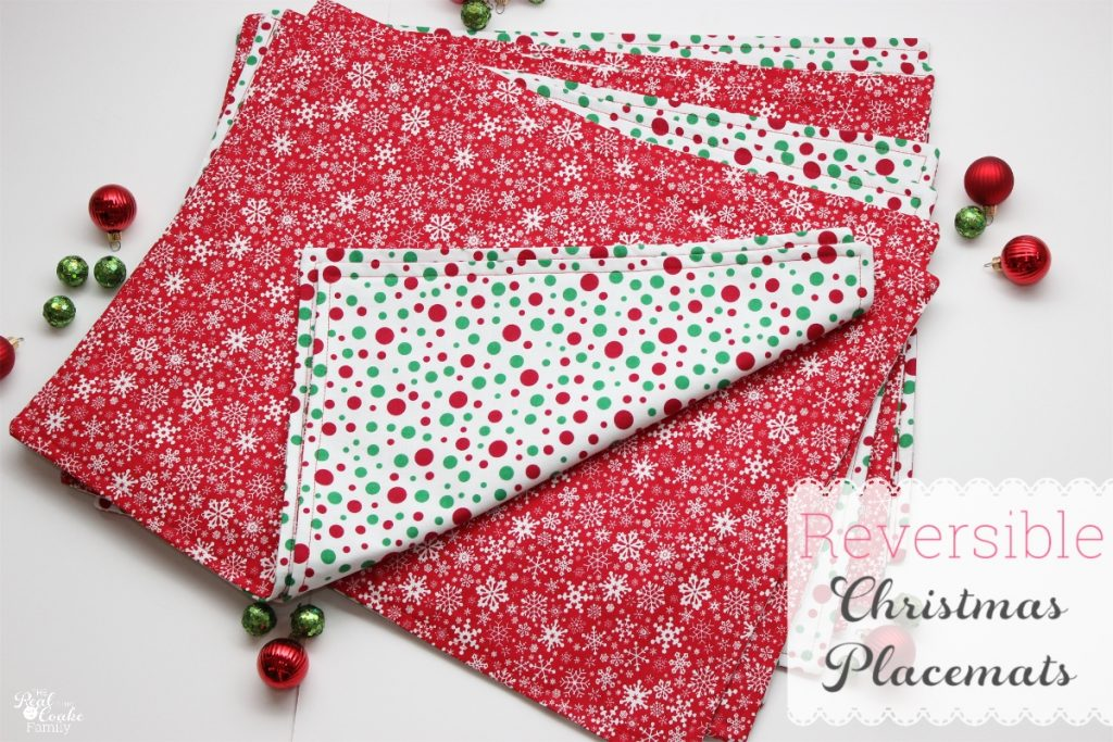 Christmas Placemats Pattern