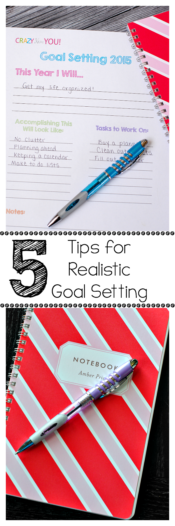 Tips for Setting & Actually Accomplishing Your Goals This Year!