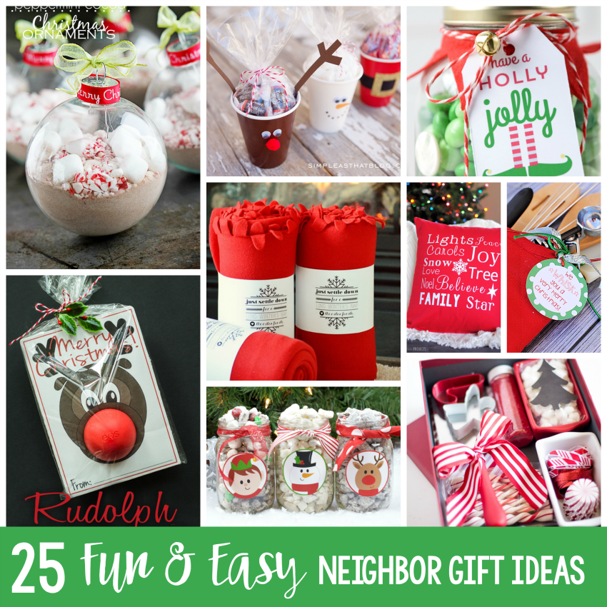 25 Neighbor Gift Ideas